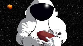 space and football