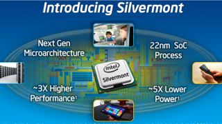 Intel Silvermont architecture with a 2013 release date