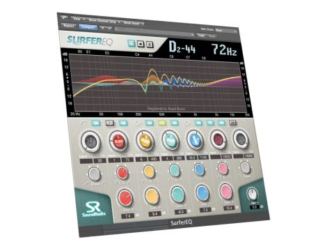 The Surfer takes a radical approach to EQ.