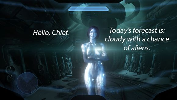 Windows Phone 8.1 Siri-like 'Cortana' takes cues from sexy Halo A.I.