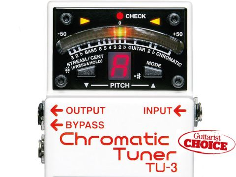 The market-leading tuner pedal gets an update, and a Guitarist Choice award