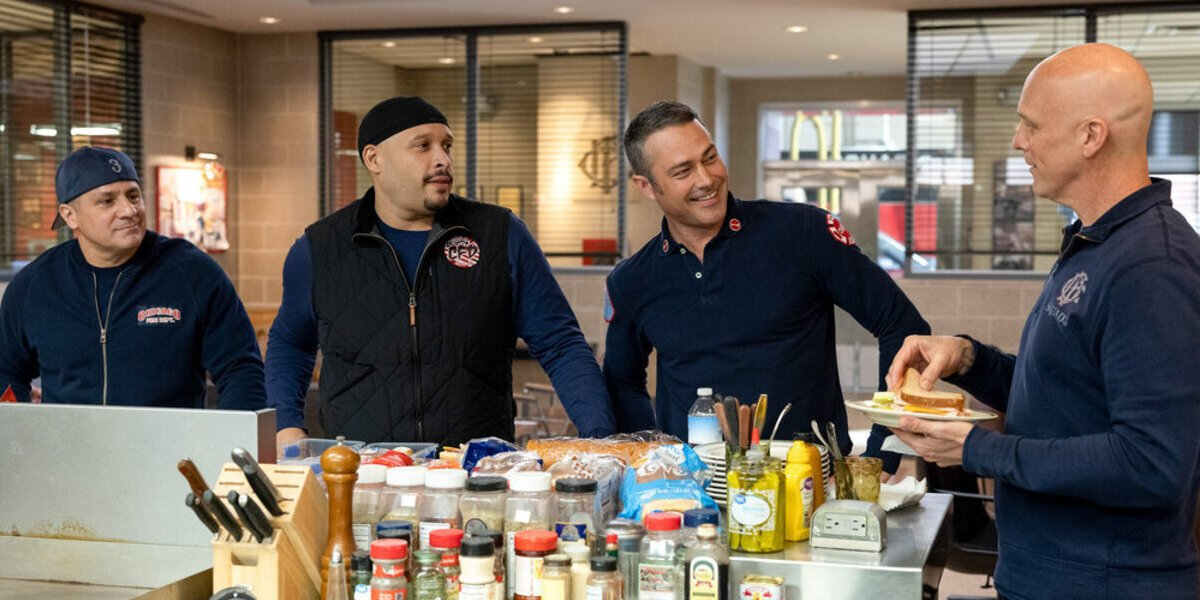 chicago fire season 9 finale squad eating lunch nbc