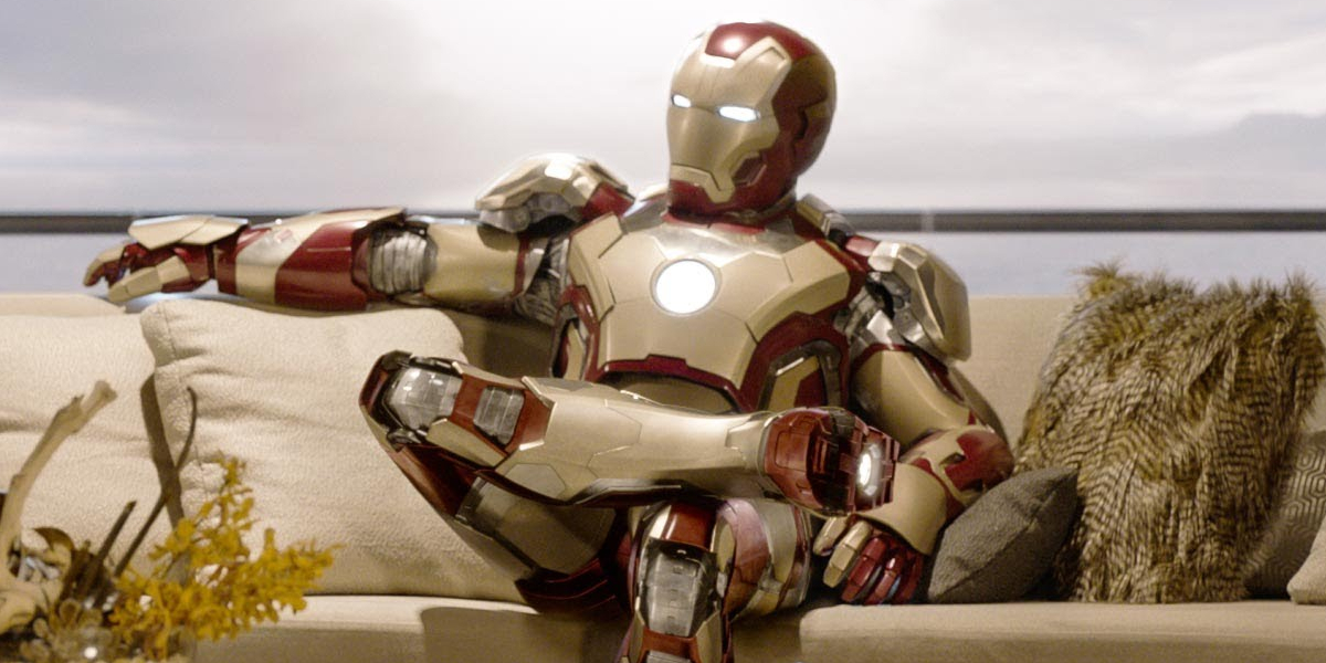 The Mark XLII in Iron Man 3