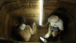 tsunami record indonesian cave