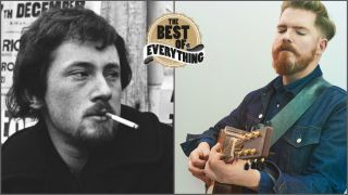 a collage of shots of john renbourn and john smith