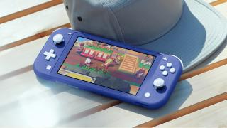 Nintendo Switch Lite new blue colorway