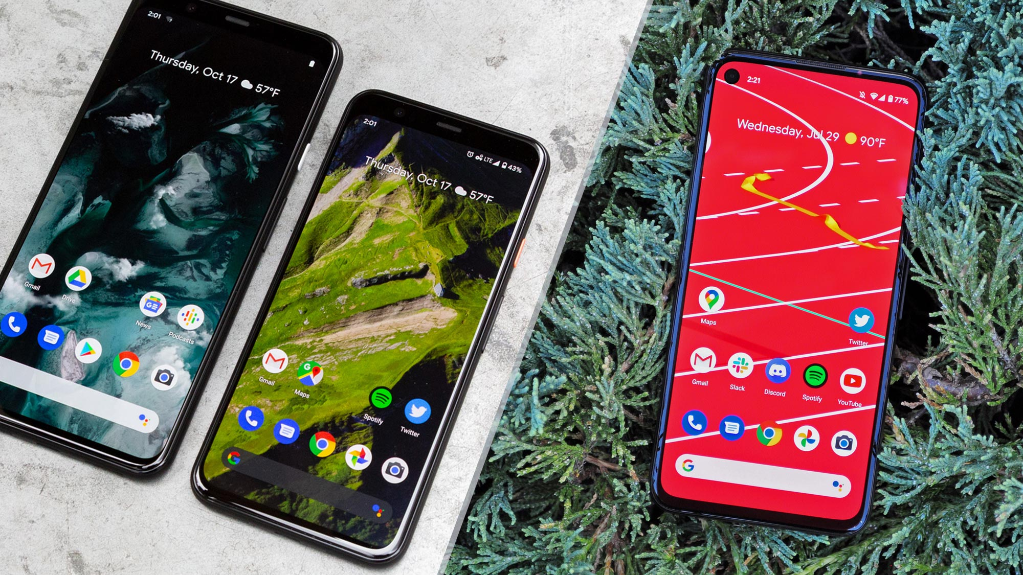 Google Pixel 4a Vs Pixel 4 What S Different Tom S Guide