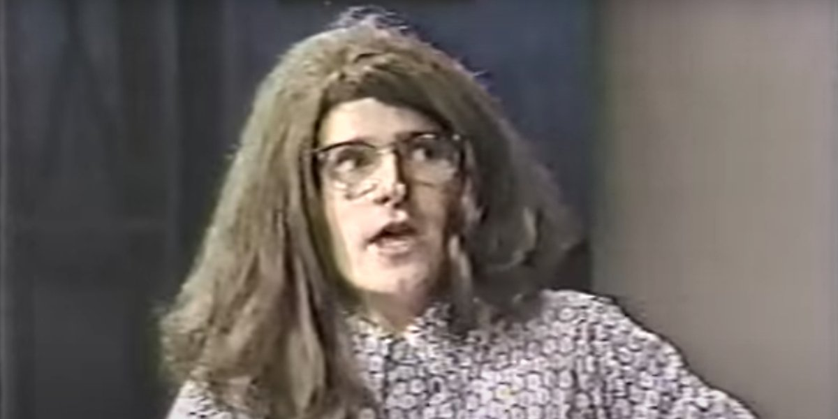 Crispin Glover on Late Night With David Letterman