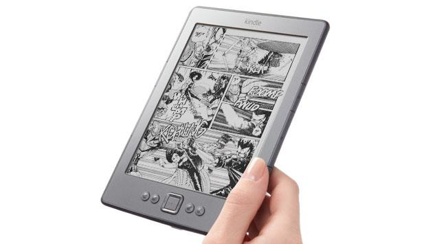 This is the faster, super-storage comic book Kindle you'll