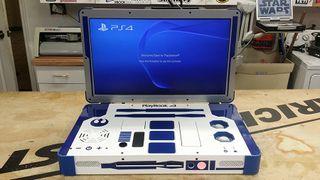 R2-D2 PlayStation 4 mod