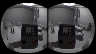 Playing Tetris on a Game Boy inside an Oculus Rift