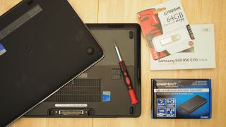Tools required to upgrade your SSD