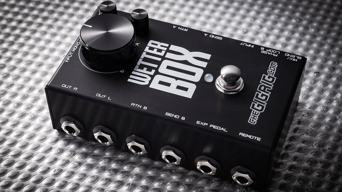 TheGigRig's Wetter Box aims to create epic tones by blending effects in parallel | MusicRadar