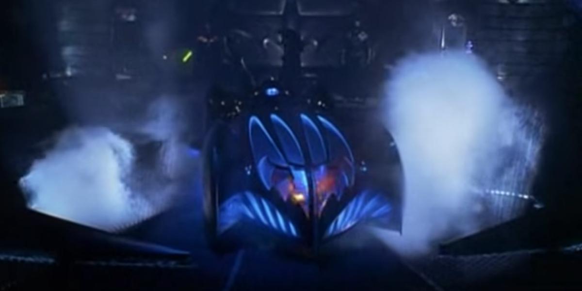 The Batmobile from Batman & Robin
