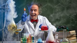 Image of a mad scientist