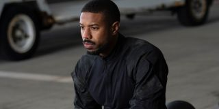 John Kelly (Michael B. Jordan) deep in thought in Tom Clancy's Without Remorse