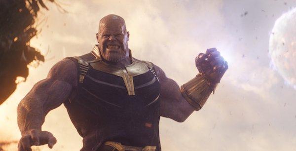 Thanos throws a moon