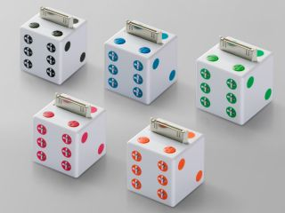 We suspect that these dice won't roll properly.