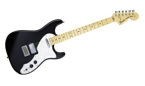 The '70s Stratocaster Deluxe also borrows features from the Thinline Tele