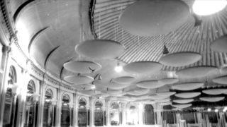 The iconic acoustic 'mushrooms' were installed in 1969 (Image credit: Royal Albert Hall)