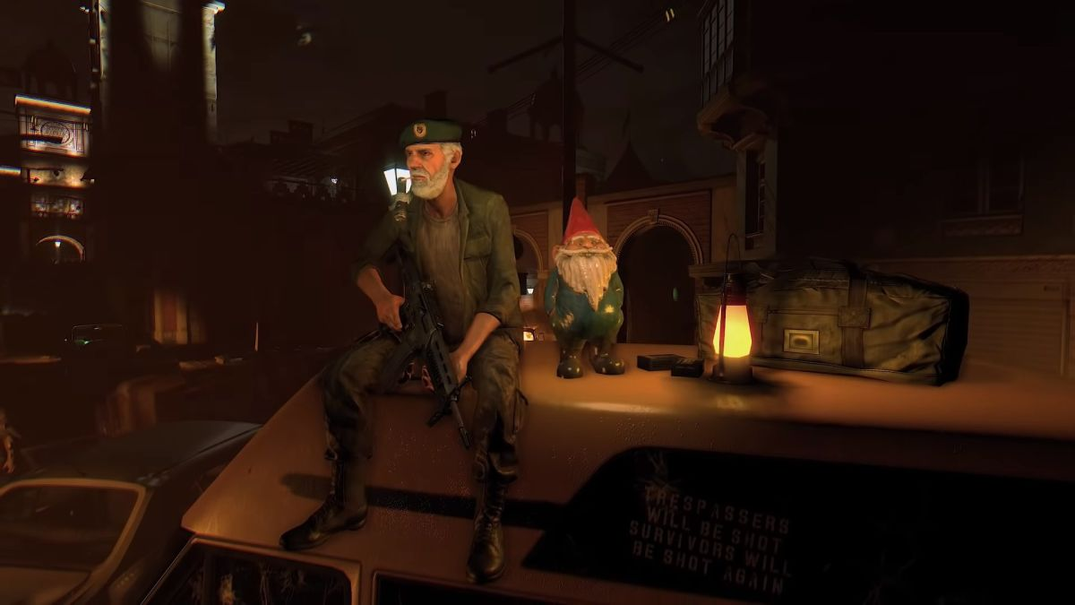 Play as Bill from Left 4 Dead 2 in the Dying Light Halloween event