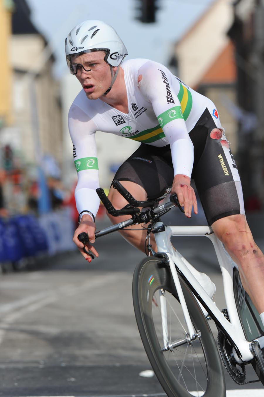 Michael Hepburn, bronze, under-23 men time trial, Road World Championships 2011