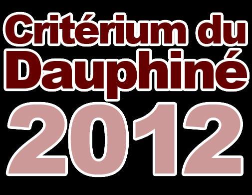 Criterium du Dauphine 2012 logo