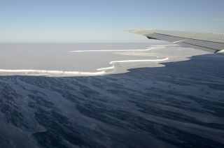Antarctica's Brunt Ice Shelf.