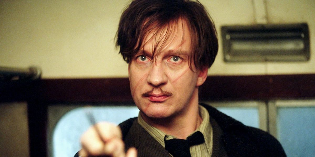 David Thewlis as Remus Lupin in Harry Potter movie