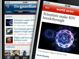 The Guardian enters the world of the iPhone app