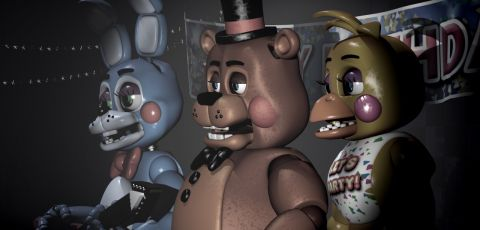 Five Nights at Freddy's 2 triple threat