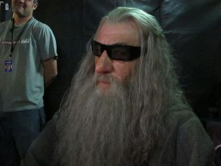 Gandalf - possibly trying to put a spell on you