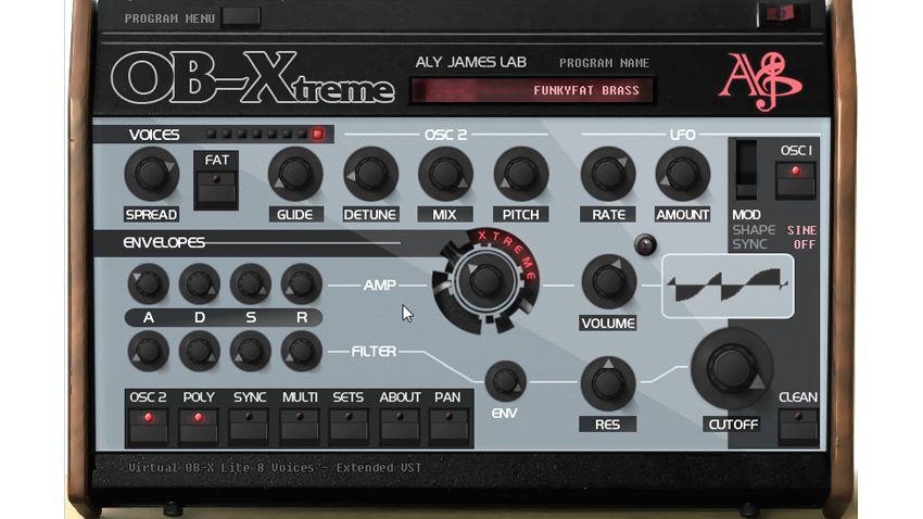 ob xtreme vst synth promises 8 voices of legend musicradar. Black Bedroom Furniture Sets. Home Design Ideas