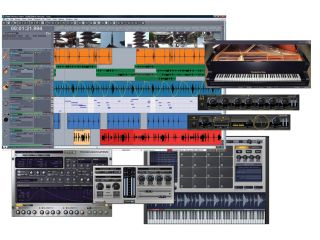 Sonar 8 looks to be a fully-featured music production system.