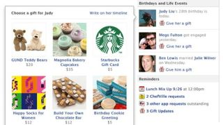 Facebook Gifts should help the company s mobile strategy