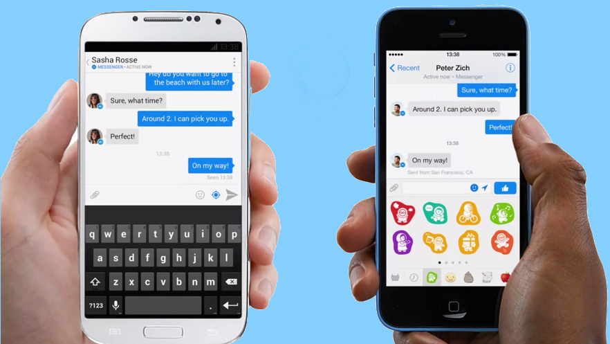 Facebook is going to force you to download its Messenger app