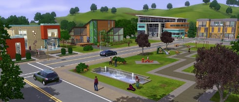 The Sims 3 Town Life Stuff Pack Gives Your Town A Makeover #18430