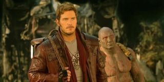 Star-Lord and Drax in Guardians 2