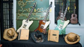 Items from the Johnny Winter auction