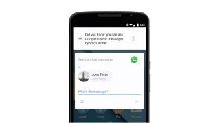 Google Now messages