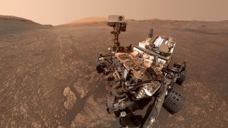 NASA's Curiosity rover has been exploring Mars' Gale Crater since touching down on its floor in August 2012.