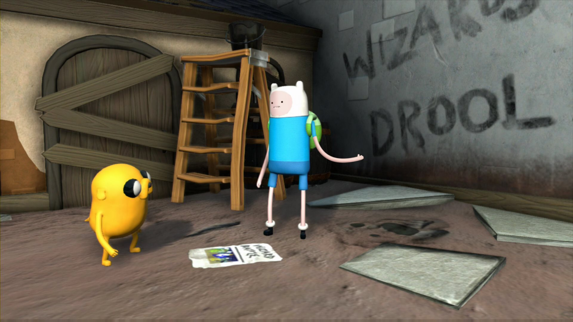 Adventure Time goes 3D in Finn and Jake Investigations