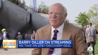 Barry Diller appearing on CNBC's 'Squawkbox'