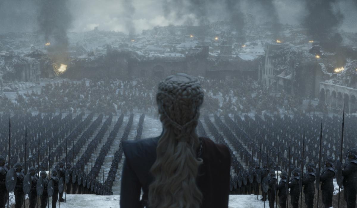 Game of Thrones Emilia Clarke Daenerys Targaryen HBO