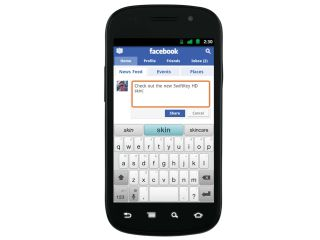 Using Facebook, SwiftKey will work out how you think