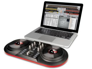 Discover DJ comprises a controller and software.