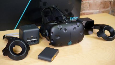 HTC Vive box photo