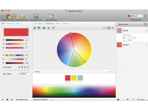 ColorSchemer Studio 2.0