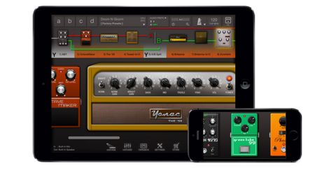 Tonestack can be expanded via in-app purchases to a selection of 24 amps