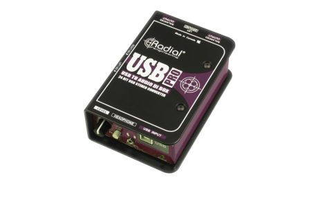 The USB Pro is plug and play and converts digital to audio up to 96kHz